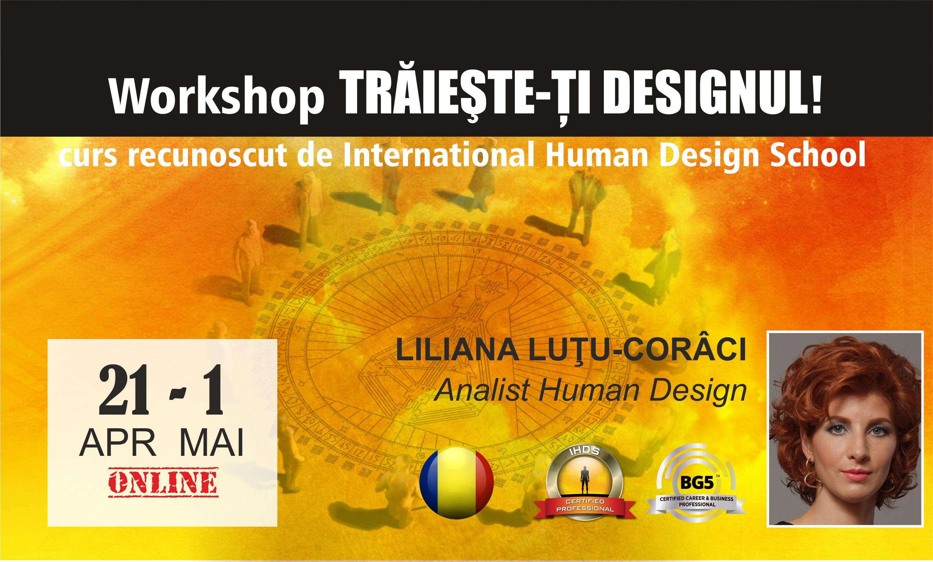 Curs Human Design Traieste-ti Designul - Living Your Design LYD3RO